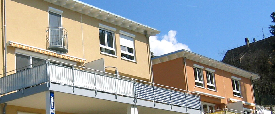 RINKER WOHNUNGSBAU: Bau von Reihenmehrfamilienhäusern in Weingarten ...